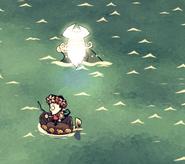 Появился призрак пирата