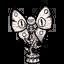 Фигура лунной бабочки (иконка)