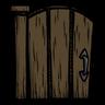 Walnut Picket Gate Icon