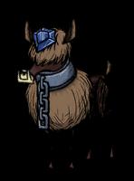 Синий самоцветный олень