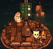 Жестяная коробка в игре