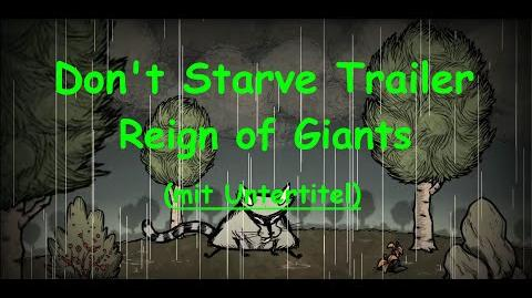 Dont Starve Reign of Giants Trailer - Deutsch