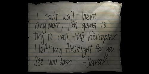 Note flashlight