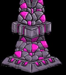 Ruins pillar