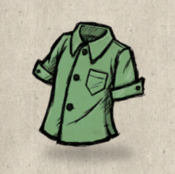 Buttons green laurel collection icon