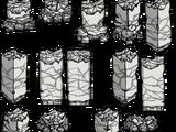 Стена из лунного камня