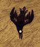 Falling crow