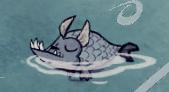 Спящая рыба-собака