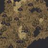 Паучьи земли на карте