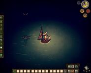 Радиус освещения лодочного фонаря