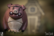Фигурка свина