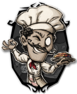 Warly The Head Chef Portrait
