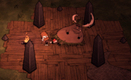 Король свиней и обелиски