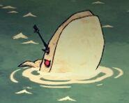 Белый кит в игре