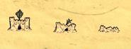 Стадии разрушения песчаного замка