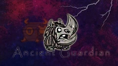 Don't Starve - Ancient Guardian (New monster from The Stuff of Nightmares update)