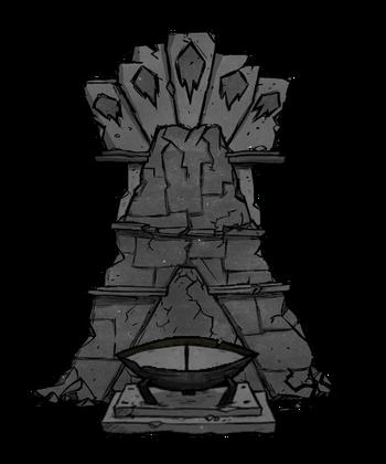 Đài Tế Núi Lửa của Snackrifice
