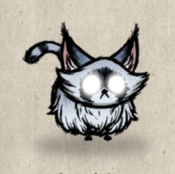 Kitten winter collection icon