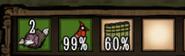 Баг с красной птицей