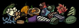 Овощи для казана без мандрагоры