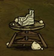 Лежащий мрамор