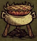 Пирог з питайи в казане