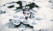 Лёд на земле