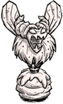 Statue Bee Queen Marble