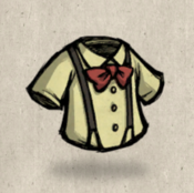 Suspenders yellow flax collection icon