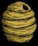 Znalezione obrazy dla zapytania gniazdo pszczół