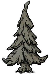Среднее окаменелое дерево