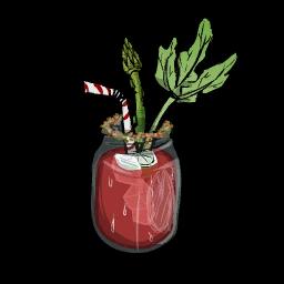 Острый овощной Стингер