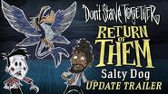 Don't Starve Together Return of Them - Salty Dog Update Trailer