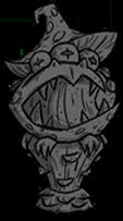 Statue Toadstool Stone