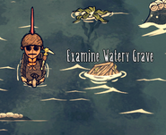 Морская могила в игре