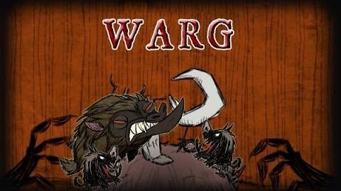 Don't Starve RoG - Warg-0