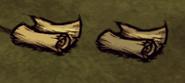 Свиток карты (справа пещерный)