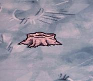 Срубленное лунное дерево