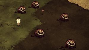 Red hound set piece found when spawning