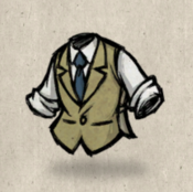 Tweedvest tan grass collection icon