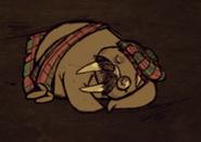 МакБивень спит