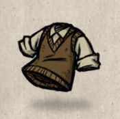 Sweatervest brown beaver collection icon