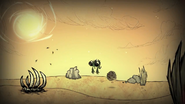 Муха в пустыне