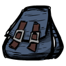 Catcoon Blue Backpack Icon
