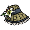 Straw Bonnet Icon