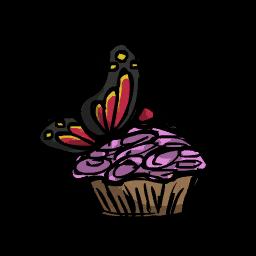 Маффин из бабочки