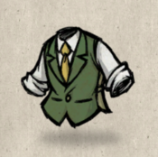 Tweedvest green hunters collection icon