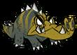 Жёлтый крокопёс