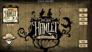 Hamlet Beta Main Menu