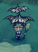 Зонтик после обновления.
